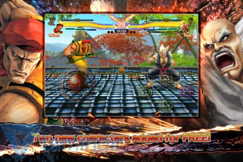 STREET FIGHTER X TEKKEN MOBILE Ekran Görüntüleri - 1