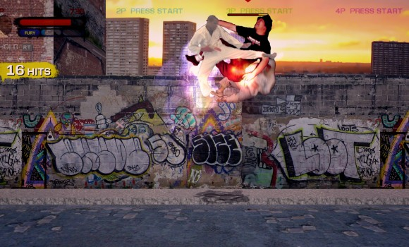 Streets of Fury EX Ekran Görüntüleri - 2