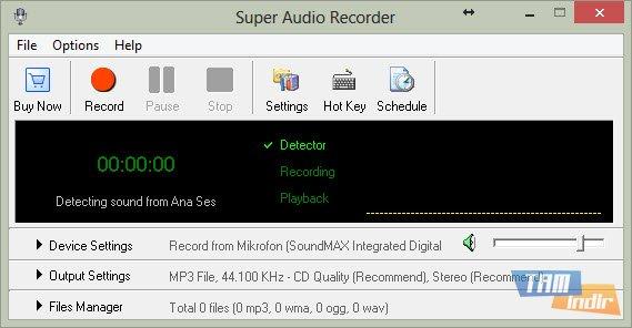 Super Audio Recorder Ekran Görüntüleri - 3
