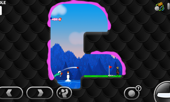 Super Stickman Golf 3 Ekran Görüntüleri - 1