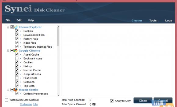 Synei Disk Cleaner Ekran Görüntüleri - 4