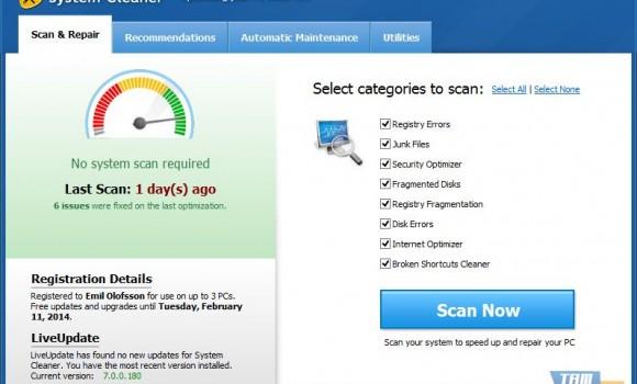 System Cleaner Ekran Görüntüleri - 7
