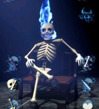 Talking Skeleton Ekran Görüntüleri - 1