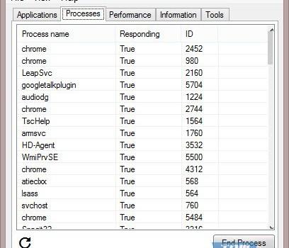 Task ManagerX Ekran Görüntüleri - 3