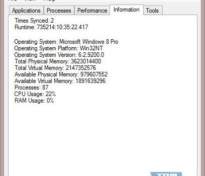 Task ManagerX Ekran Görüntüleri - 1