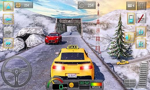 Taxi Driver 3D : Hill Station Ekran Görüntüleri - 5