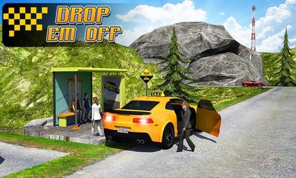 Taxi Driver 3D : Hill Station Ekran Görüntüleri - 2