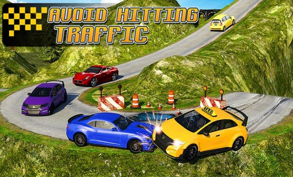 Taxi Driver 3D : Hill Station Ekran Görüntüleri - 1