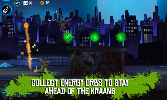 Teenage Mutant Ninja Turtles: Rooftop Run Ekran Görüntüleri - 3