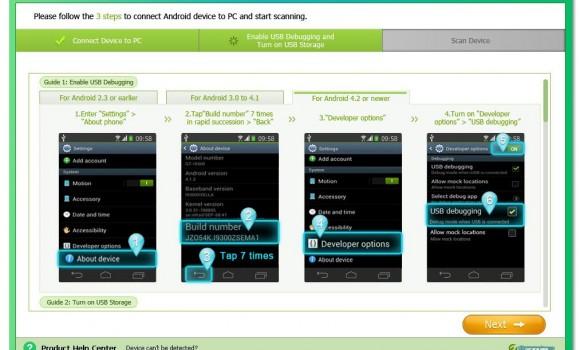 Tenorshare Android Data Recovery Ekran Görüntüleri - 5
