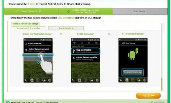 Tenorshare Android Data Recovery Ekran Görüntüleri - 4
