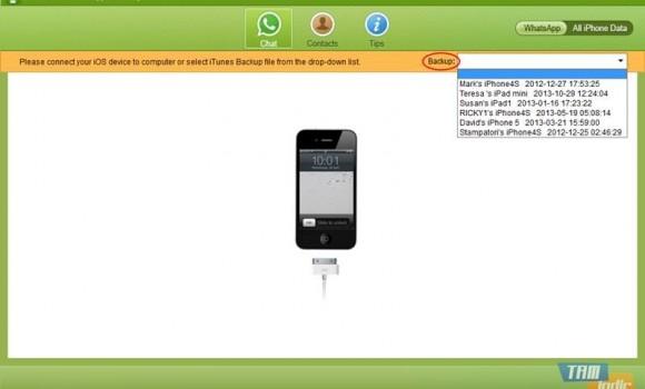 Tenorshare Free WhatsApp Recovery Ekran Görüntüleri - 4