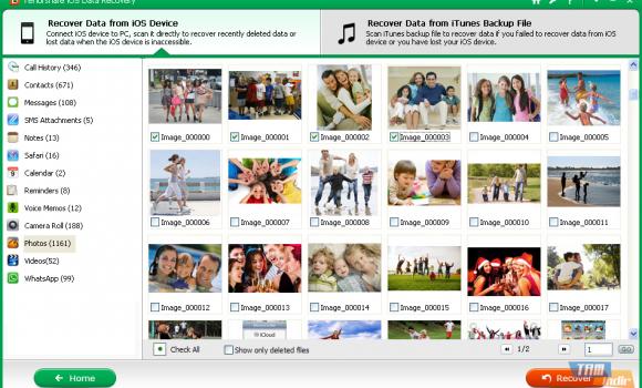 Tenorshare iOS Data Recovery Ekran Görüntüleri - 3