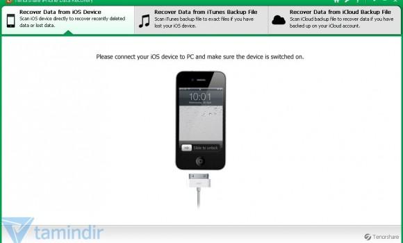 Tenorshare iPhone 5 Data Recovery Ekran Görüntüleri - 6