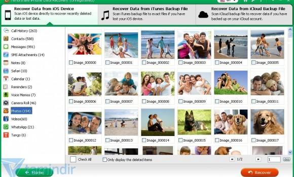 Tenorshare iPhone 5 Data Recovery Ekran Görüntüleri - 4