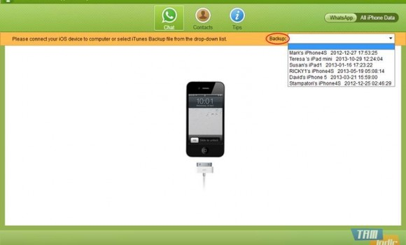 Tenorshare WhatsApp Recovery Ekran Görüntüleri - 4