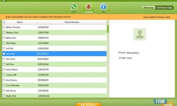 Tenorshare WhatsApp Recovery Ekran Görüntüleri - 2