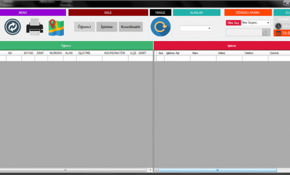 Teom - Stajyer Takip Programı Ekran Görüntüleri - 7