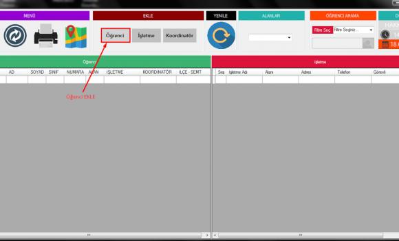 Teom - Stajyer Takip Programı Ekran Görüntüleri - 6