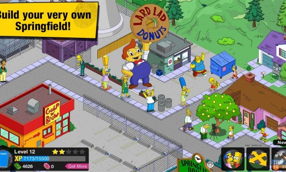 The Simpsons Tapped Out Ekran Görüntüleri - 4
