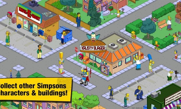 The Simpsons Tapped Out Ekran Görüntüleri - 2