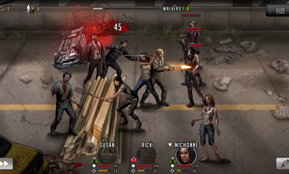 The Walking Dead: Road to Survival Ekran Görüntüleri - 1