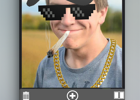 Thug life photo sticker maker Ekran Görüntüleri - 5