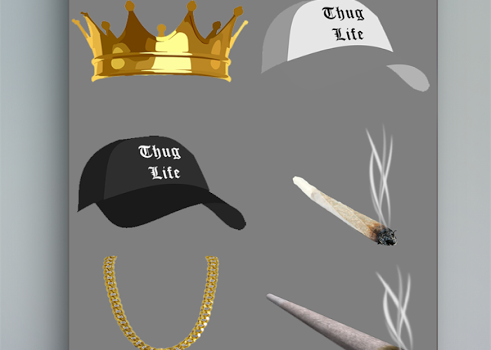 Thug life photo sticker maker Ekran Görüntüleri - 3