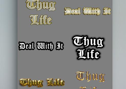 Thug life photo sticker maker Ekran Görüntüleri - 2