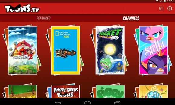 ToonsTV: Angry Birds Video App Ekran Görüntüleri - 1