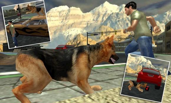 Town Police Dog Chase Crime 3D Ekran Görüntüleri - 2