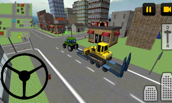 Tractor Driver 3D: City Ekran Görüntüleri - 5