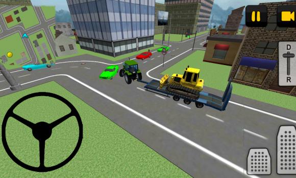 Tractor Driver 3D: City Ekran Görüntüleri - 4