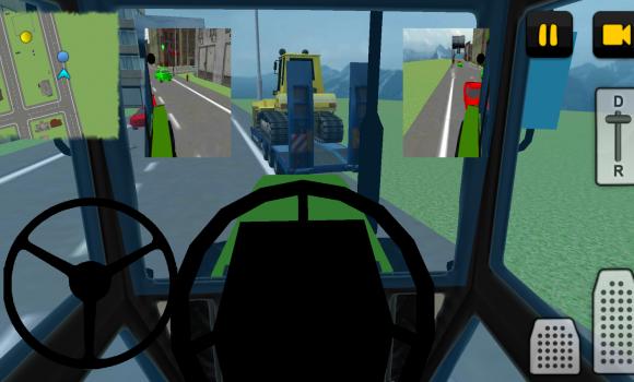 Tractor Driver 3D: City Ekran Görüntüleri - 3