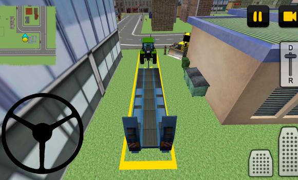 Tractor Driver 3D: City Ekran Görüntüleri - 2