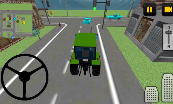Tractor Driver 3D: City Ekran Görüntüleri - 1