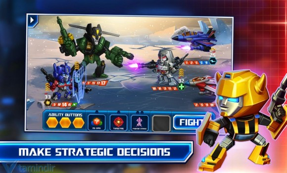 TRANSFORMERS: Battle Tactics Ekran Görüntüleri - 5