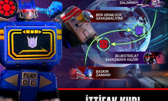 Transformers: Earth Wars Ekran Görüntüleri - 3