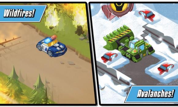 Transformers Rescue Bots: Hero Adventures Ekran Görüntüleri - 2