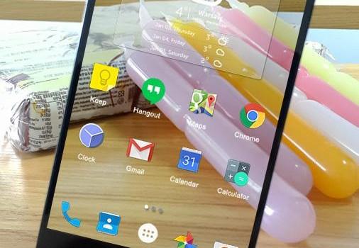 Transparent Launcher Ekran Görüntüleri - 1
