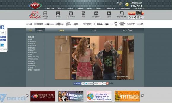 TRT 1 Canlı Yayın İzle Ekran Görüntüleri - 1