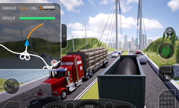 Truck Simulator PRO 2016 Ekran Görüntüleri - 4