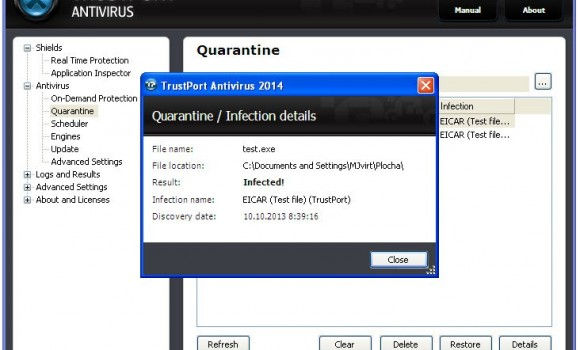 Trustport Antivirus Ekran Görüntüleri - 2