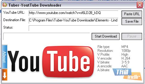 Tuber-YoutTube Downloader Ekran Görüntüleri - 1
