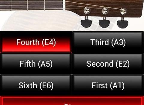 Tune Your Guitar Ekran Görüntüleri - 4