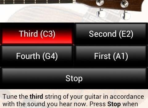 Tune Your Guitar Ekran Görüntüleri - 2