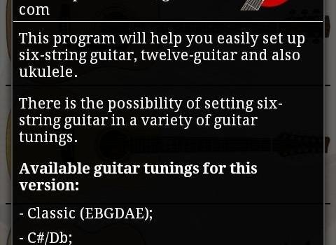 Tune Your Guitar Ekran Görüntüleri - 1
