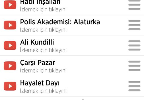 Türk Filmleri Ekran Görüntüleri - 1
