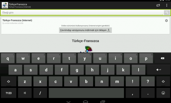 Türkçe-Fransızca Sözlük Ekran Görüntüleri - 4