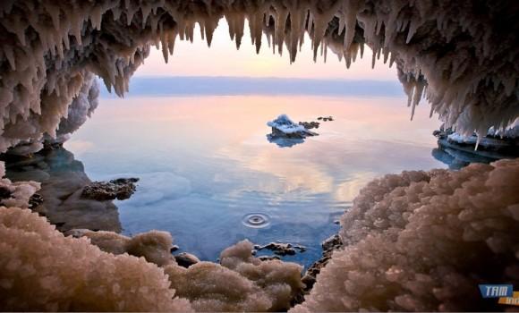 Tuz Gölleri ve Ölü Deniz Teması Ekran Görüntüleri - 1